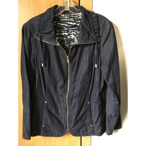 Reversible lightweight denim jacket!!